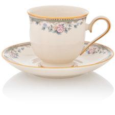 """Чашка чайная с блюдцем Lenox """"Весенняя аллея"""" 180мл"""