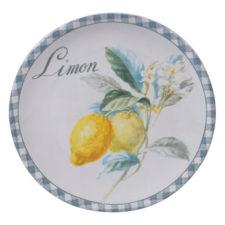 "Тарелка закусочная Certified Int. ""Лимоны"" 23см (Limon)"