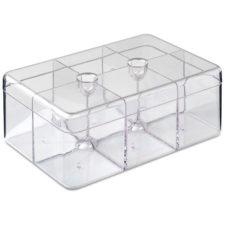 Контейнер для чайных пакетиков прямоугольный Mepal 22х15см