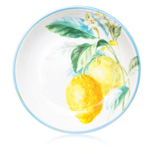 "Тарелка суповая Certified Int. ""Лимоны"" 23см"
