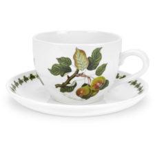 """Чашка для завтрака с блюдцем Portmeirion """"Помона.Груша"""" 500мл"""