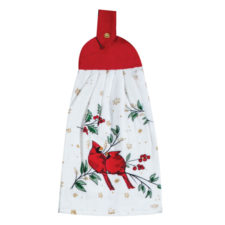 """Полотенце кухонное с держателем KAY DEE DESIGNS """"Красный кардинал"""" 23х46см"""