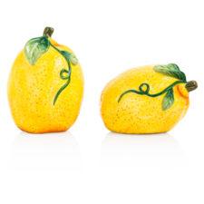 """Набор для соли и перца 3D Certified Int. """"Лимоны"""" 8см"""
