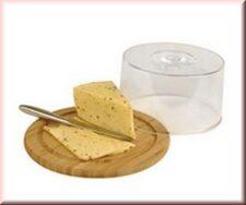 Бамбуковая доска для сыра с пластиковой крышкой, Vinzer
