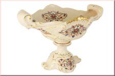 Ваза на ножке декоративная Babyzon Dynasty 'Рубин'