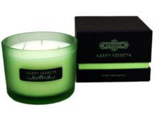 Свеча декоративная, ароматная Вербена, 11х8 см