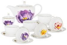 Чайный сервиз Flowers 14 предметов Anna Lafarg Emily