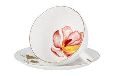 Чашка с блюдцем Magnolia 0,25л в подарочной упаковке