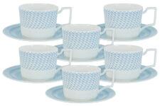 Чайный набор Блюз: 6 чашек + 6 блюдец 0,25л Naomi