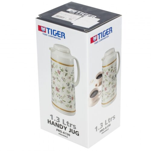 Термос Tiger со стеклянной колбой Прованс  1,3 л Япония