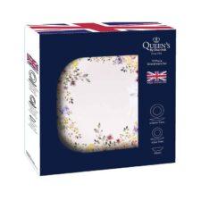 Набор тарелок Полевые цветы Churchill 12 предметов