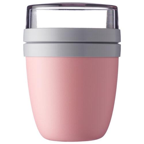 Ланч-бокс двухкамерный Mepal 500мл+200мл (розовый)