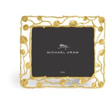 "Рамка для фото Michael Aram ""Ботаника"" 13,25х11см (золотист.)"