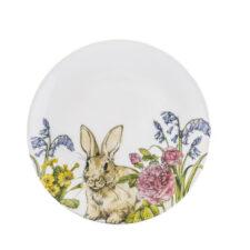 Тарелка 22 см Кролик на лугу Churchill от Пасха