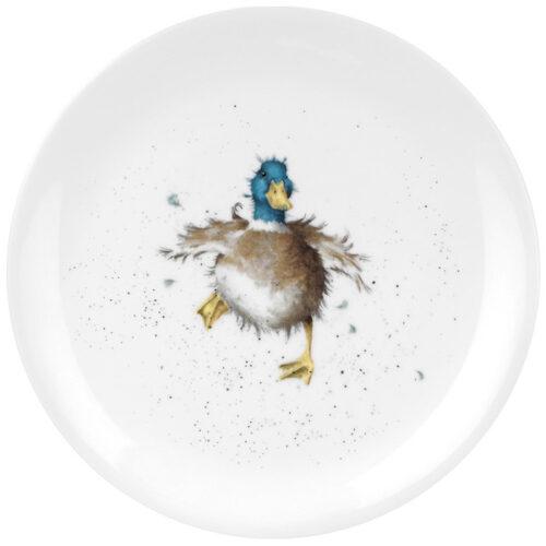"""Тарелка закусочная Royal Worcester """"Забавная фауна. Утёнок"""" 20см"""