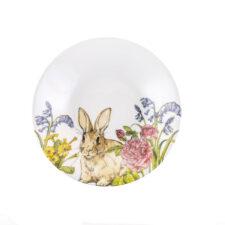 Глубокая тарелка 20 см Кролик на лугу Churchill от Пасха