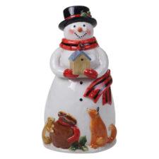 """Банка для печенья 3D Certified Int. """"Магия Рождества. Снеговик"""" 30см"""