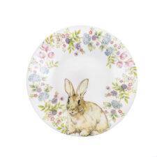 Глубокая тарелка 20 см Кролик в венке Churchill от Пасха