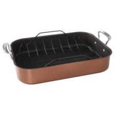 Форма для запекания с ростером Nordic Ware 46х33х9,5см, антипригарная, сталь