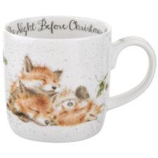 "Кружка Royal Worcester ""Забавная фауна"", ""Ночь перед Рождеством"" (Лисы) 310мл"