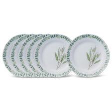 """Набор из 6 тарелок обеденных Noritake """"Английские травы"""" 27,5см"""