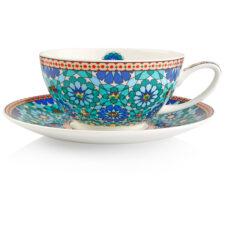 "Чашка чайная с блюдцем Dunoon ""Иштар"" 250мл"