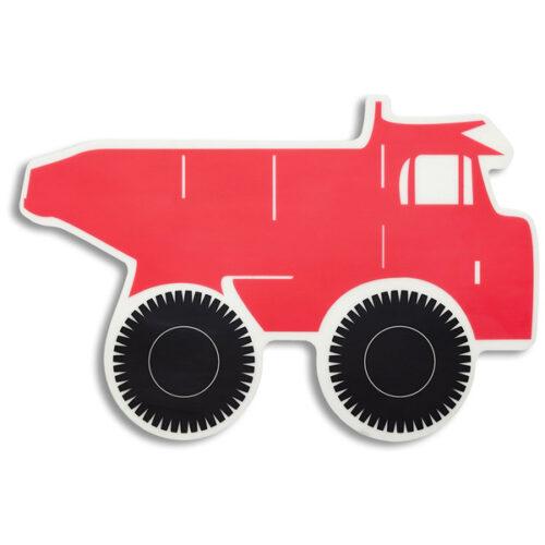 """Салфетка подстановочная 30х43см """"Грузовик"""", красный"""