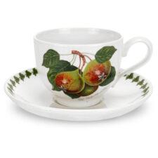 "Чашка чайная с блюдцем Portmeirion ""Помона.Груша"" 200мл"