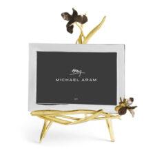 Рамка для фото Michael Aram Черный ирис 18х13см, сталь нержавеющая