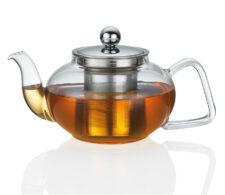 Чайник заварочный с ситечком, 800 мл, стекло Kuchenprofi