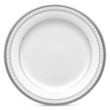 """Тарелка десертная Noritake """"Рочестер,платиновый кант"""" 16см"""