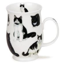 """Кружка Dunoon """"Черно-белые котики.Саффолк"""" 310мл"""