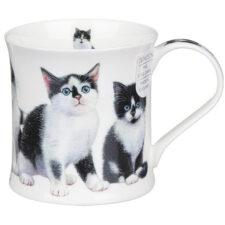 """Кружка Dunoon """"Чёрные и белые котята.Уэссекс"""" 300мл"""