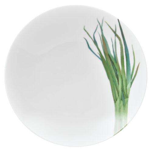 """Тарелка для пасты Noritake """"Овощной букет.Зелёный лук"""" 23см"""