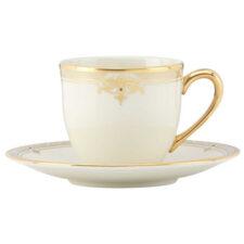 """Чашка для эспрессо с блюдцем Lenox """"Республика"""" 90мл"""