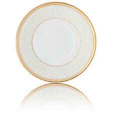 "Тарелка закусочная Noritake ""Белый дворец"" 22см"