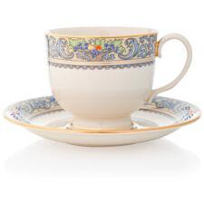 """Чашка чайная с блюдцем Lenox """"Осень"""" 200мл"""