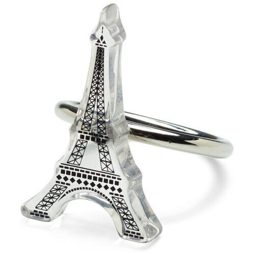 """Набор из 4 колец для салфеток 5см """"Париж"""""""