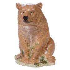 """Банка для печенья 3D Certified Int. """"Заповедный лес.Медведь"""" 30см"""