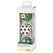 """Набор бумажных форм для кексов Birkmann """"Футбол"""" 5см, 36 шт"""
