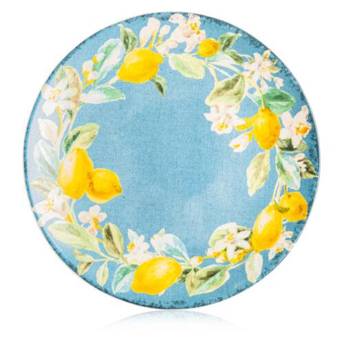 "Тарелка обеденная Certified Int. ""Лимоны"" 28см,керамика"