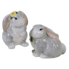 """Набор для соли и перца 3D Certified Int. """"Милый кролик"""" 9,5см"""
