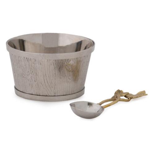 """Чаша для орешков Michael Aram """"Плющ и дуб"""" 10см"""