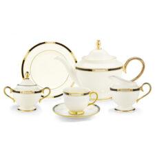 """Сервиз чайный Lenox """"Подлинные ценности"""" на 6 персон 21 предмет"""