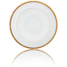 """Тарелка суповая Noritake """"Рочель,золотой кант"""" 21,5см"""