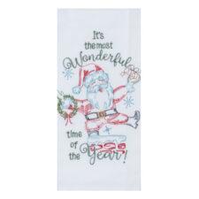 """Полотенце кухонное Kay Dee Designs """"Рождественская история"""" 46х66см, хлопок (Санта)"""