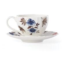 """Чашка чайная с блюдцем Lenox """"Цветущая лоза"""" 210мл"""