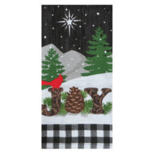 """Полотенце кухонное махровое Kay Dee Designs """"Зимние радости"""" 40*66см, хлопок"""