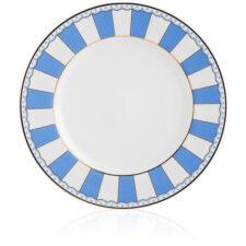 """Набор тарелок десертных Noritake """"Карнавал"""" 21см (синяя полоска), 2шт, п/к"""