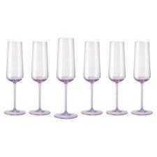 """Набор фужеров для шампанского Rosenthal """"Турандот"""" 190мл (розовый), 6шт"""